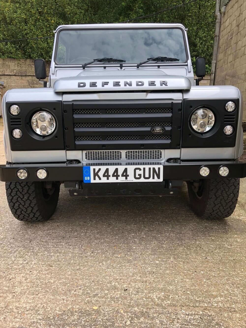 Refurbished Land Rover Defender