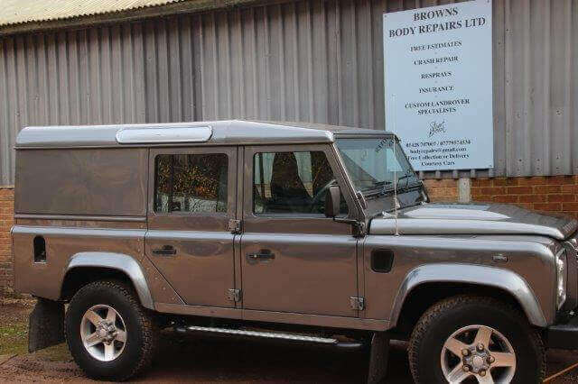 Vinnie Jones Land Rover Before