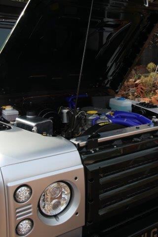 Land Rover Defender Under The Hood