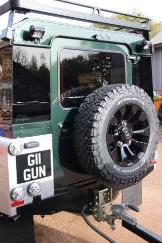 Land Rover Boot Door