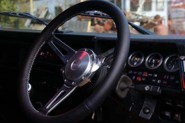 Vinnie Jones Land Rover Steering Wheel
