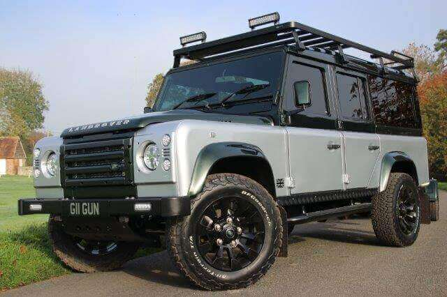 Vinnie Jones Land Rover