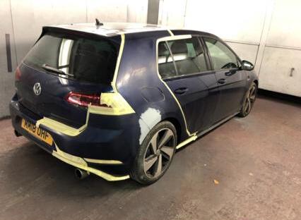 VW Golf Paintwork