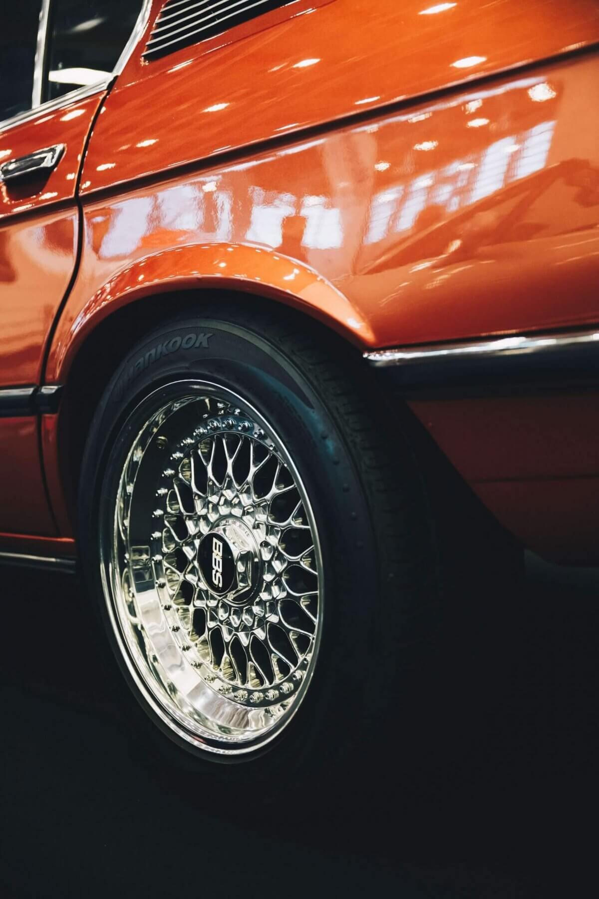 BMW Orange Body & Tyre